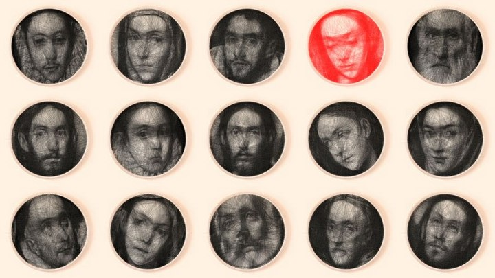 Портреты, созданные при помощи одной нити длиной в 2 км (5)