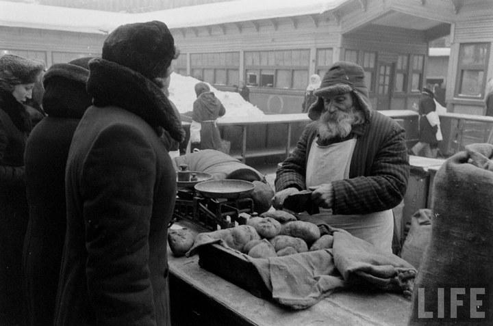 Жизнь рабочего в СССР 50-х (54)