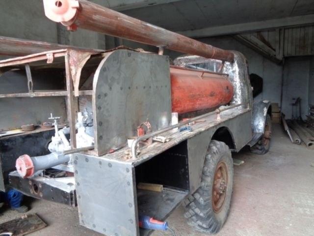 Возрождение старого пожарного ГАЗа из 1960-х (7)