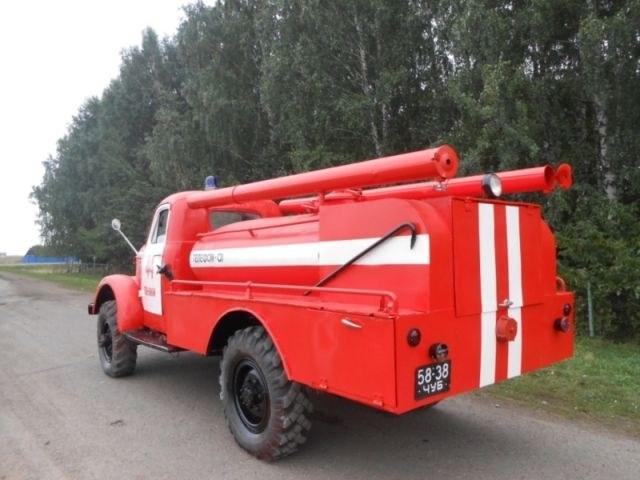 Возрождение старого пожарного ГАЗа из 1960-х (9)