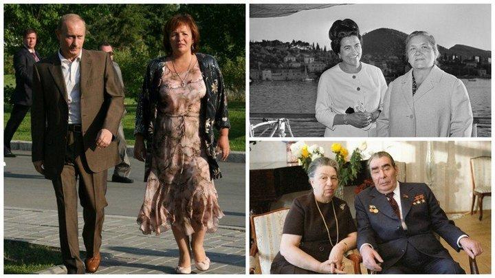 От Хрущевой до Путиной: как выглядели Первые Леди нашей страны (1)