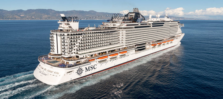 "Круизный лайнер ""MSC Seaside"" (1)"