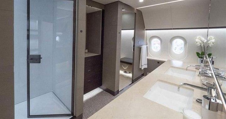 Boeing 787-8 Dreamliner с шикарным интерьером (5)