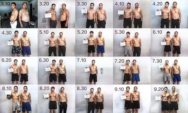 Отец и сын за 6 месяцев привели свои тела в порядок (4)
