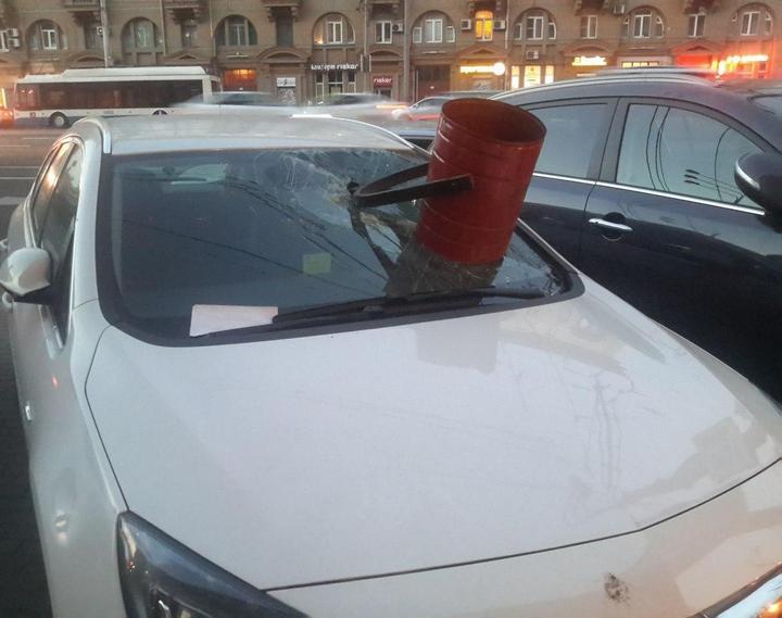 Подборка наказаний за хамскую парковку (8)