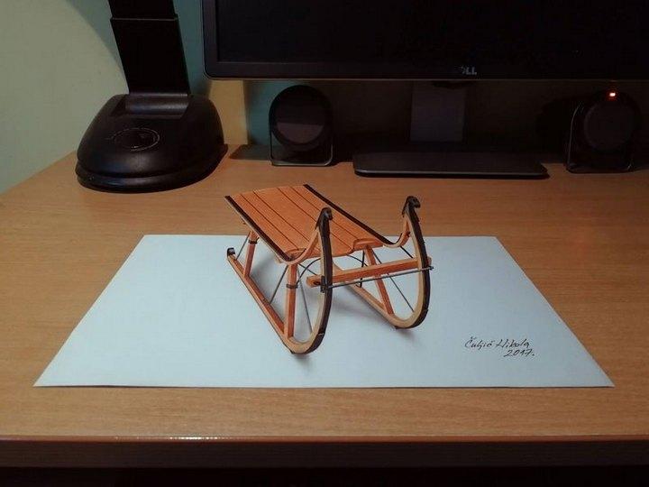Потрясающие 3D-рисунки которые взорвут вам мозг (6)