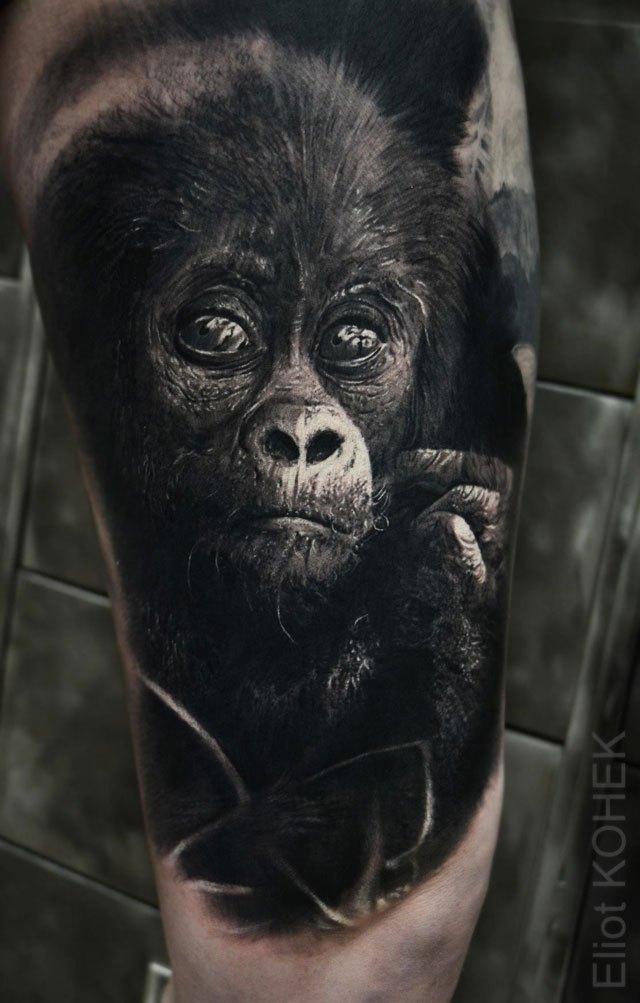 Реалистичные 3D татуировки от Eliot Kohek (6)