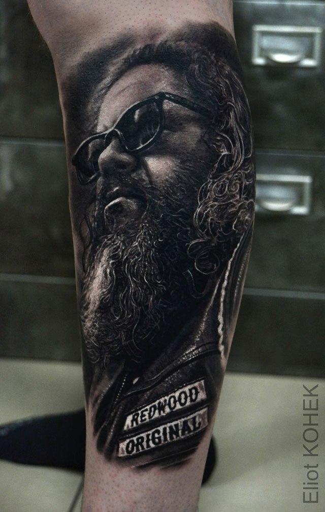 Реалистичные 3D татуировки от Eliot Kohek (2)