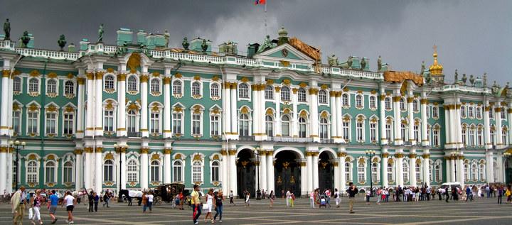 Достопримечательности Санкт-Петербурга. Зимний дворец (1)