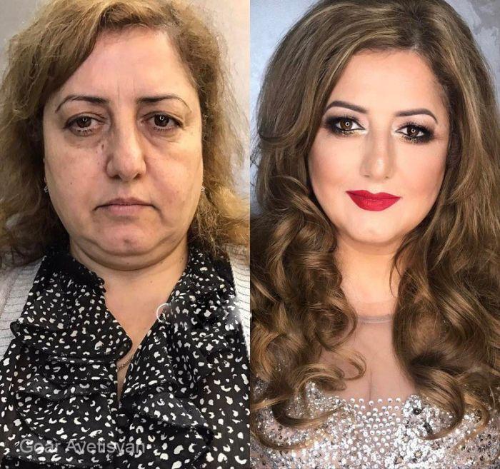 Как косметика в руках профессионал преображает любую женщину (7)