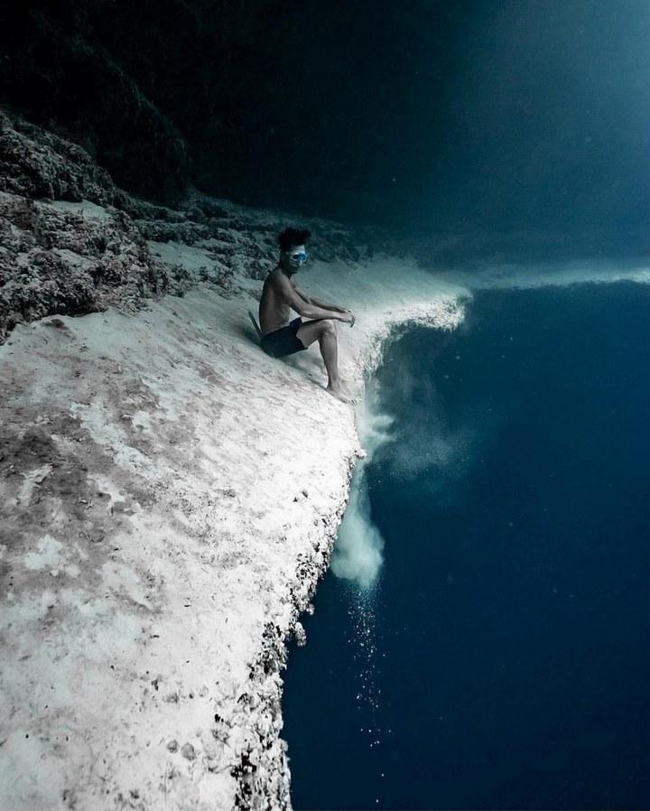 Большая голубая дыра. Тихий океан. Белиз.