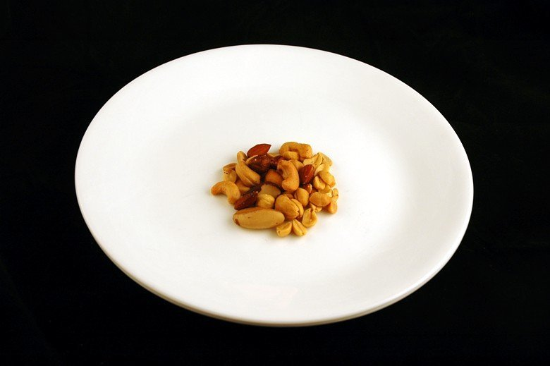 Как выглядят 200 калорий на тарелке (17)