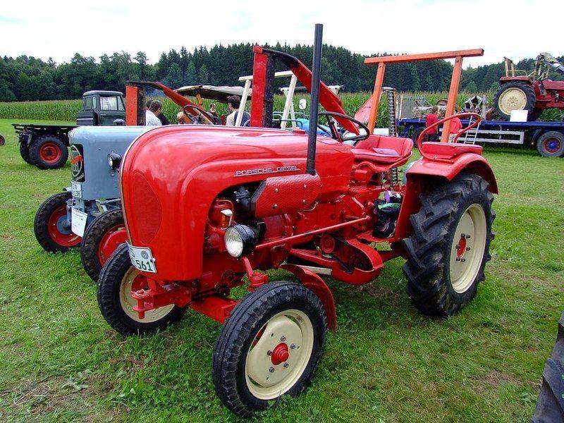 5 тракторов от Porsche и Lamborghini (2)
