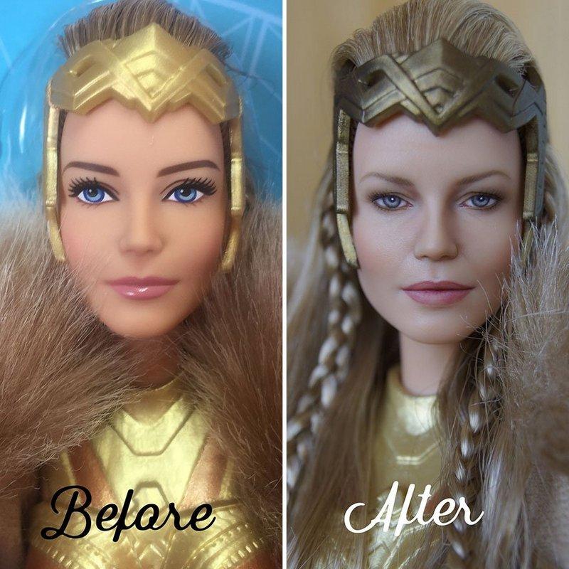 Украинская художница преобразует обычные куклы в реалистичные шедевры (5)