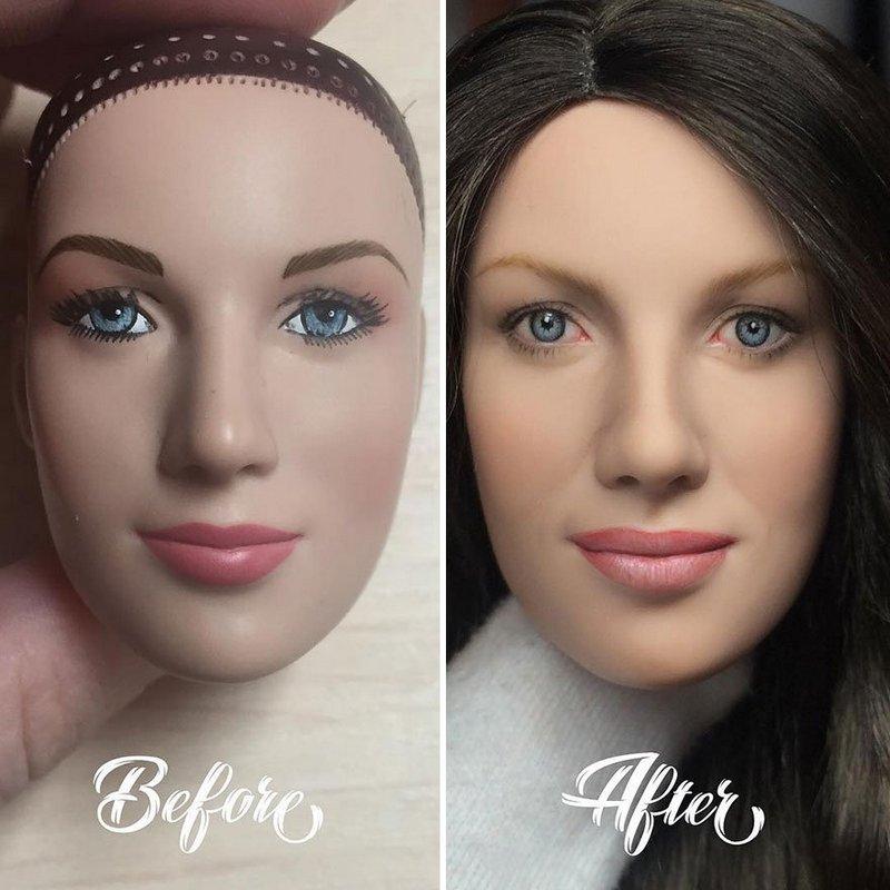 Украинская художница преобразует обычные куклы в реалистичные шедевры (6)