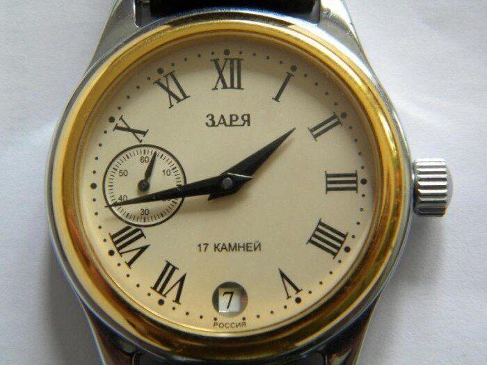 10 культовых наручных часов из СССР (6)