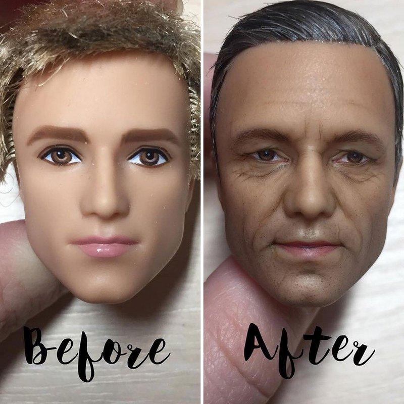 Украинская художница преобразует обычные куклы в реалистичные шедевры (7)