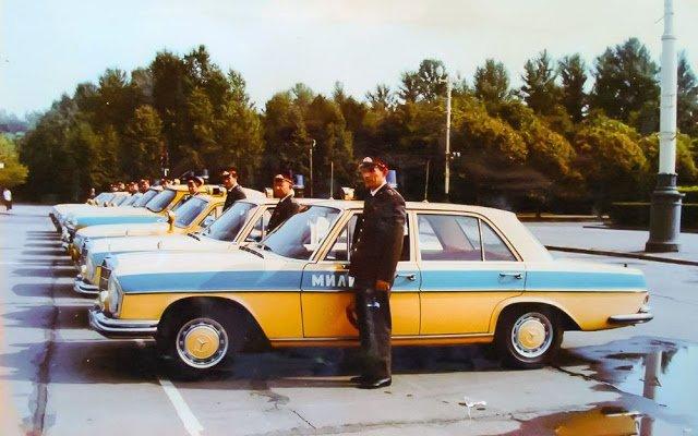 Иномарки в советской милиции (1)