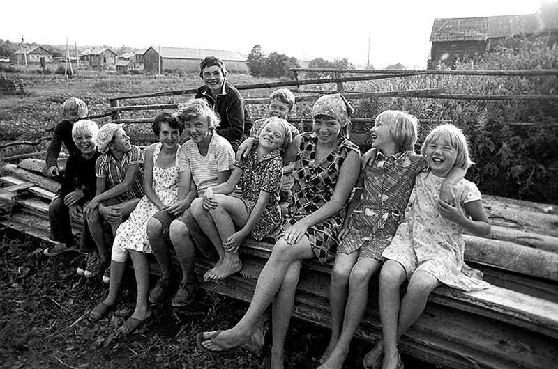 Душевные фотографии советской деревни (1)