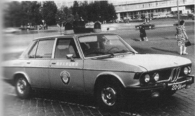 Иномарки в советской милиции (10)