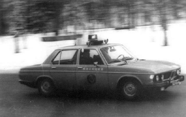 Иномарки в советской милиции (11)