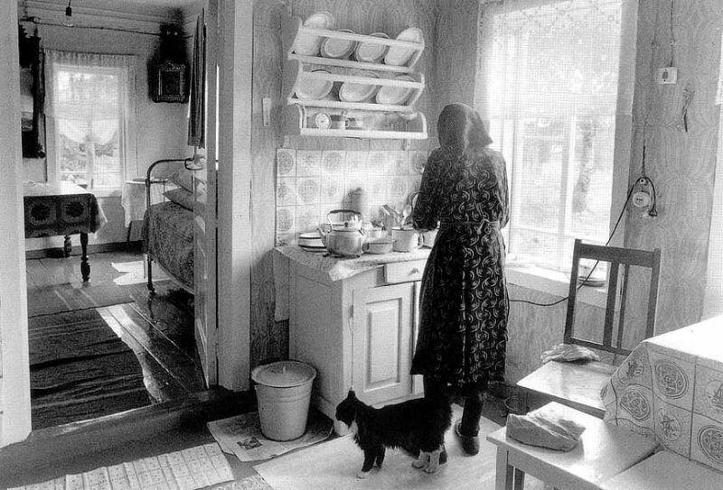 Душевные фотографии советской деревни (11)