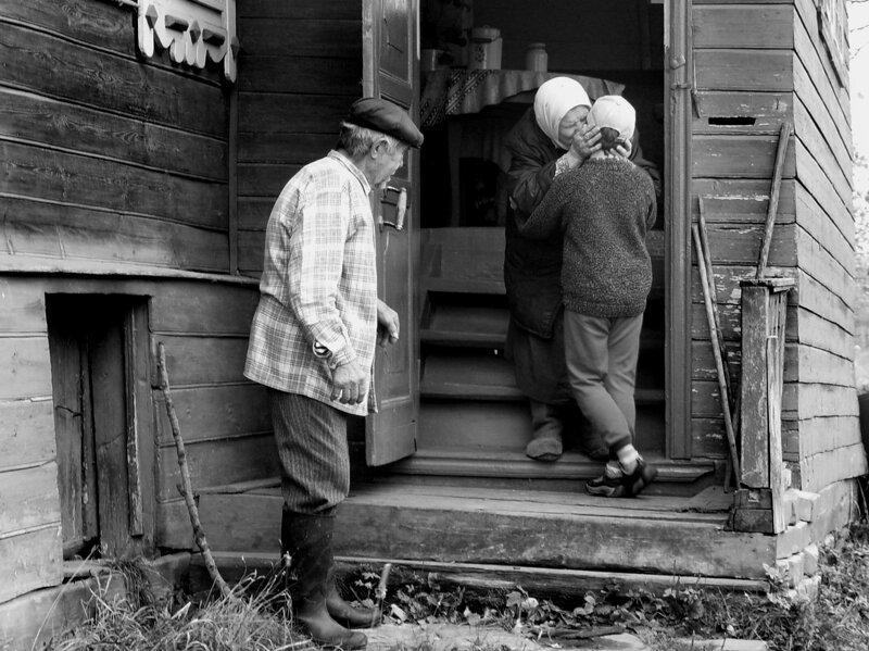 Душевные фотографии советской деревни (13)