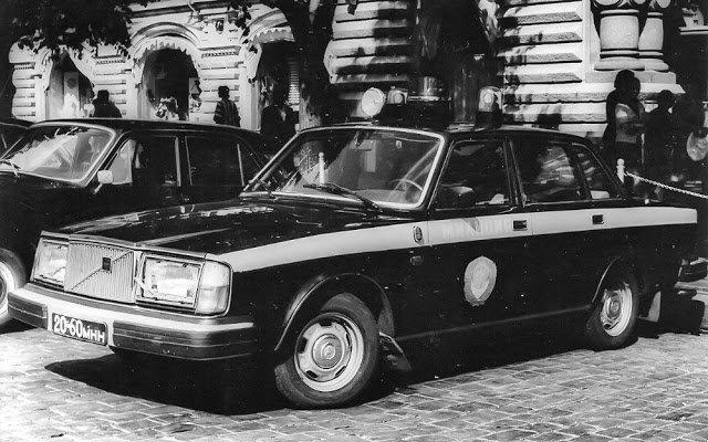 Иномарки в советской милиции (14)