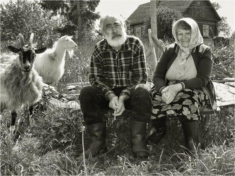 Душевные фотографии советской деревни (14)