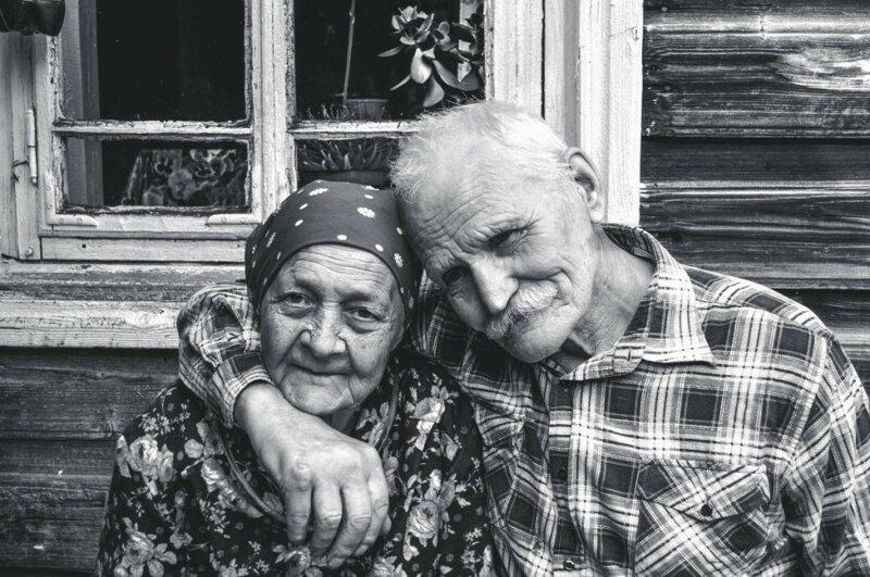 Душевные фотографии советской деревни (15)