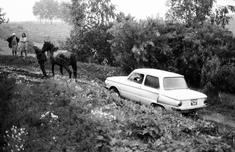 Душевные фотографии советской деревни (2)