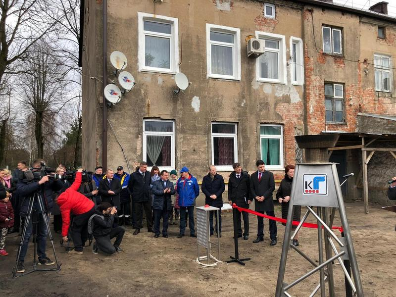 Пуск газа в городе Советск Калининградской области (2)