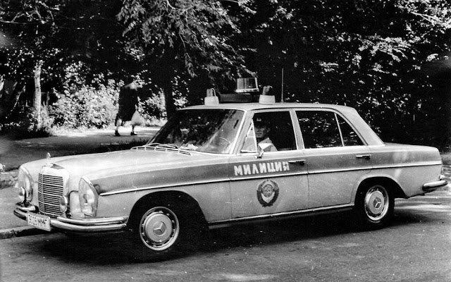 Иномарки в советской милиции (3)
