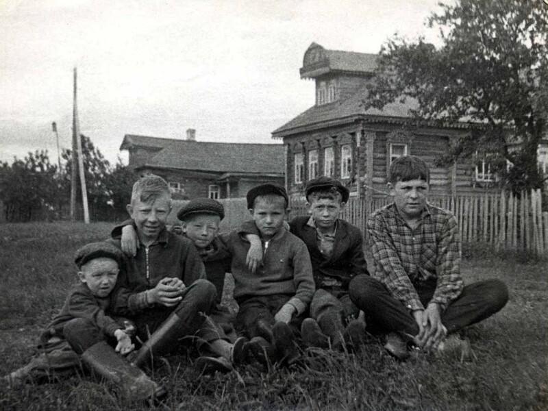 Душевные фотографии советской деревни (3)