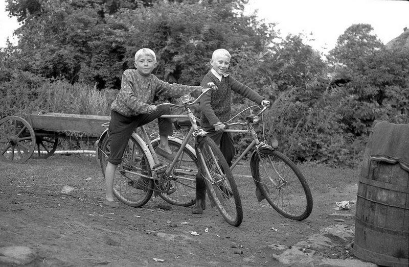 Душевные фотографии советской деревни (4)