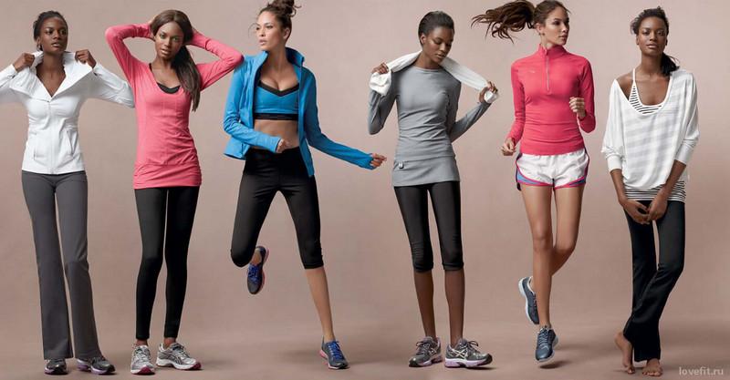 Из каких материалов должна быть одежда для занятий фитнесом (4)