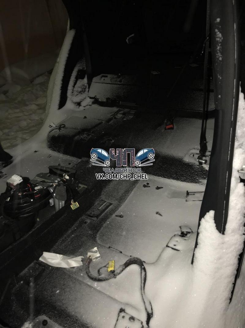 В Челябинске грабители за несколько часов разобрали Mercedes (4)