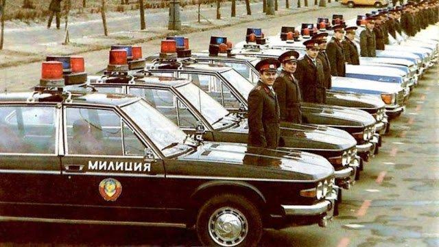 Иномарки в советской милиции (6)