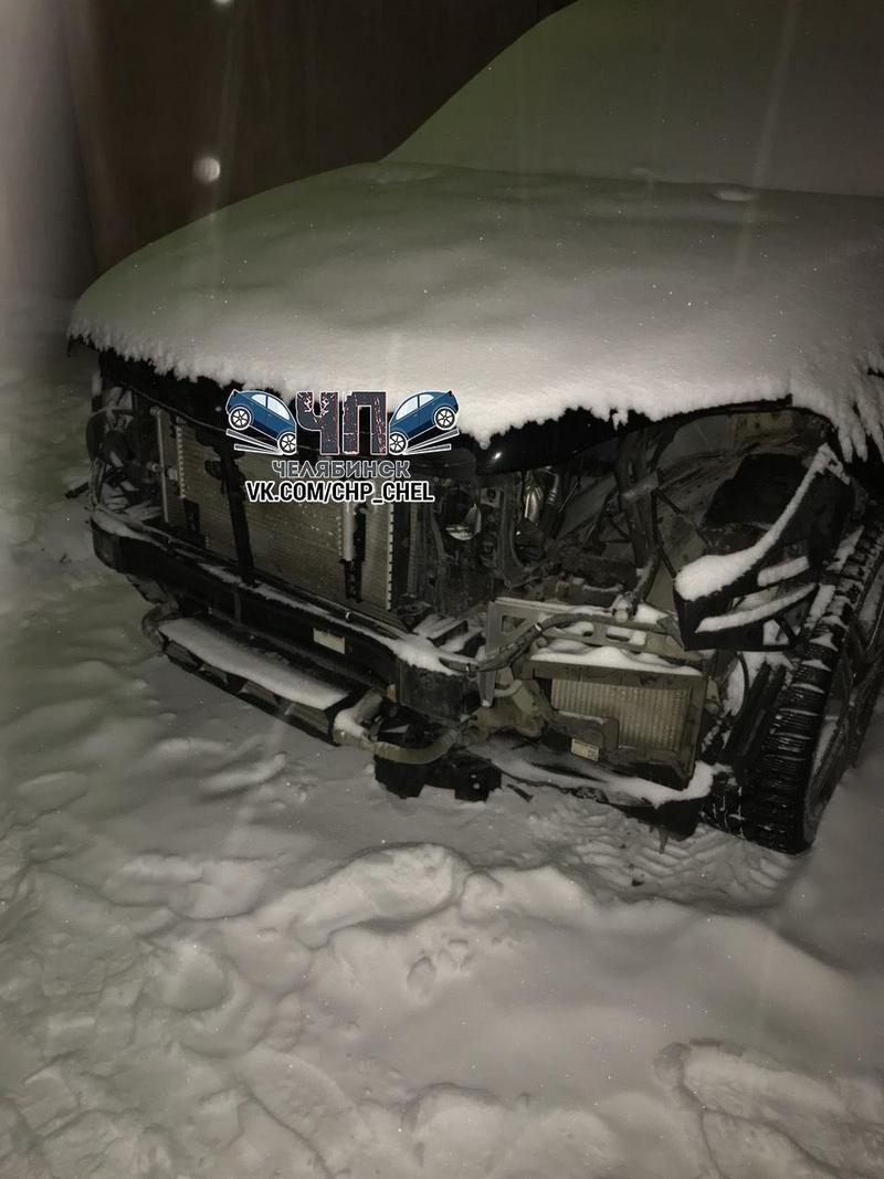 В Челябинске грабители за несколько часов разобрали Mercedes (6)