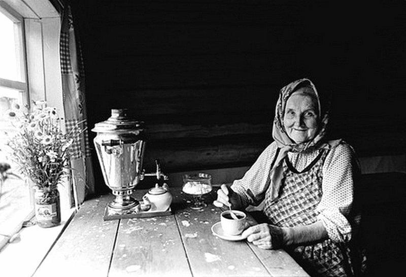 Душевные фотографии советской деревни (7)