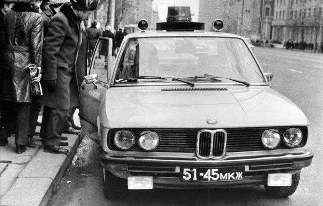 Иномарки в советской милиции (8)