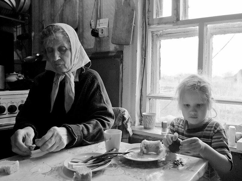 Душевные фотографии советской деревни (8)