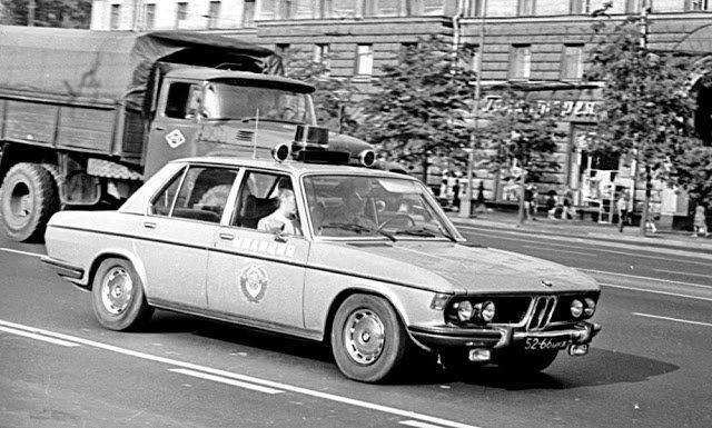 Иномарки в советской милиции (9)