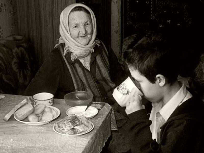 Душевные фотографии советской деревни (9)