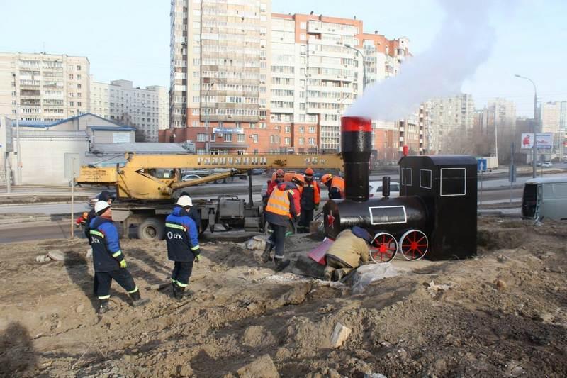 Интересное решение от коммунальщиков Новосибирска (1)
