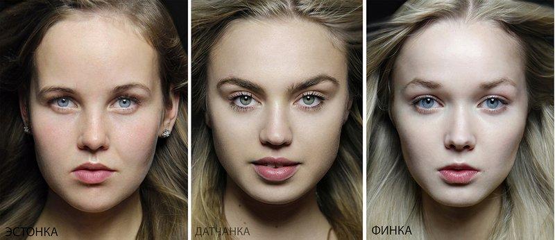 Типичная внешность женщин различных народов мира (11)