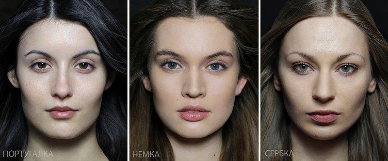 Типичная внешность женщин различных народов мира (12)