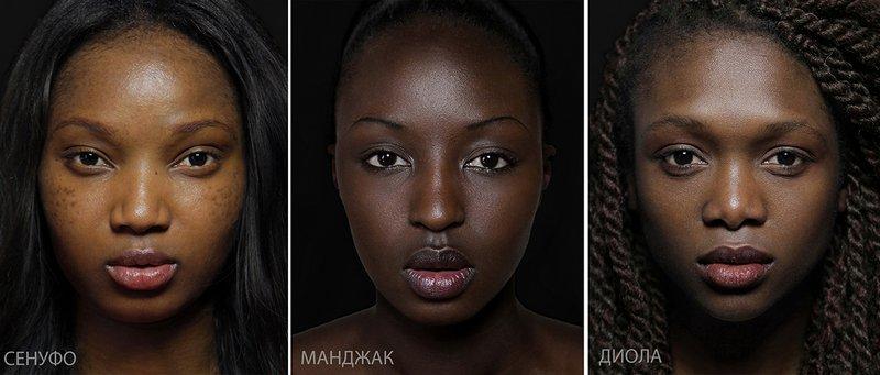 Типичная внешность женщин различных народов мира (16)