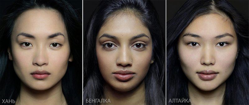 Типичная внешность женщин различных народов мира (2)