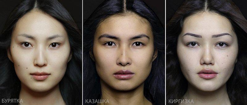 Типичная внешность женщин различных народов мира (3)
